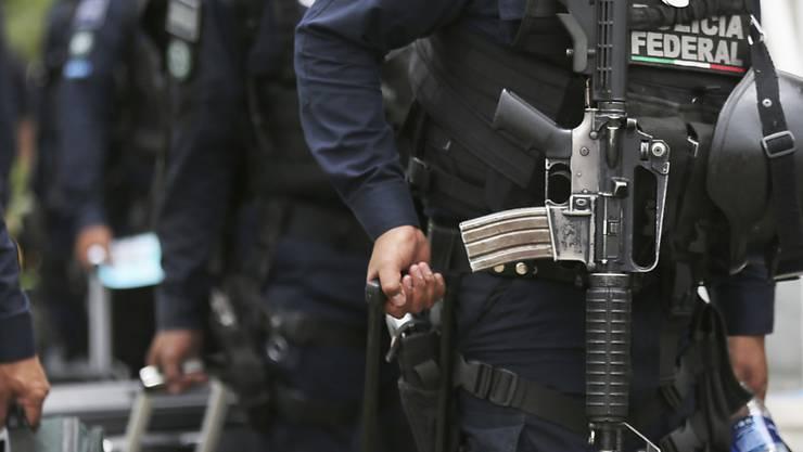 Beamte der mexikanischen Bundespolizei. (Archivbild)