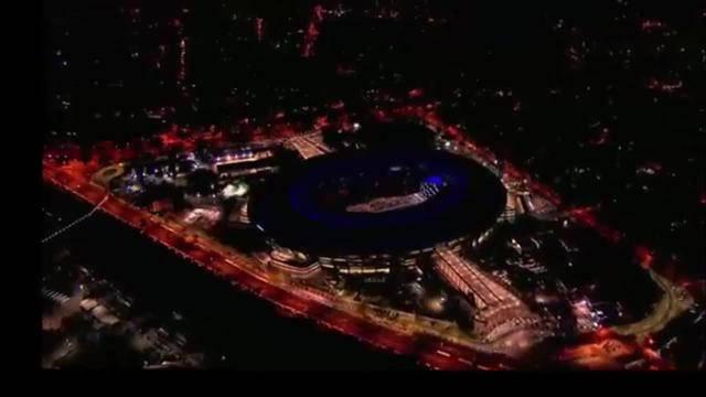 Startschuss zu den Olympischen Spielen