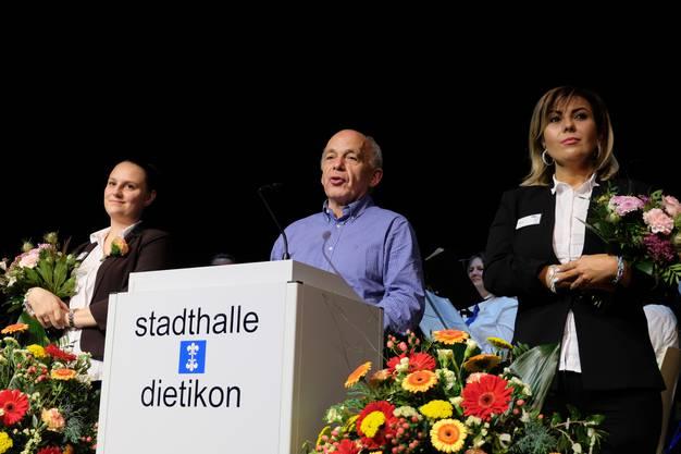 Einer der Höhepunkte war die Ansprache von SVP-Bundesrat Ueli Maurer.
