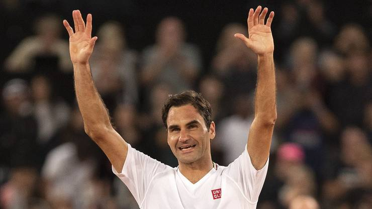 Letztmals stand Roger Federer im Februar beim Match for Africa in Südafrika vor Publikum auf einem Tennisplatz.