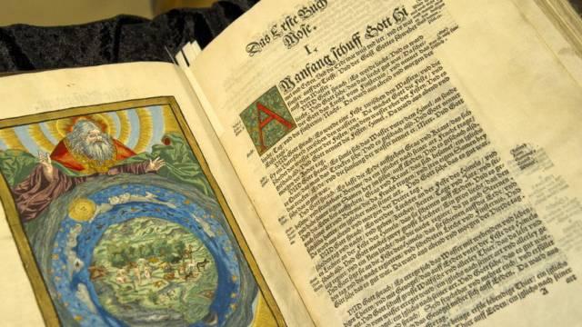 Pergament war im Mittelalter rar (Archiv)
