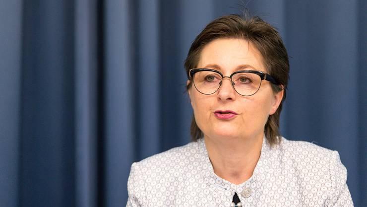 Regierungsrätin Franziska Roth und das Amtsgeheimnis: «Die zwei Fälle sind nicht vergleichbar.»