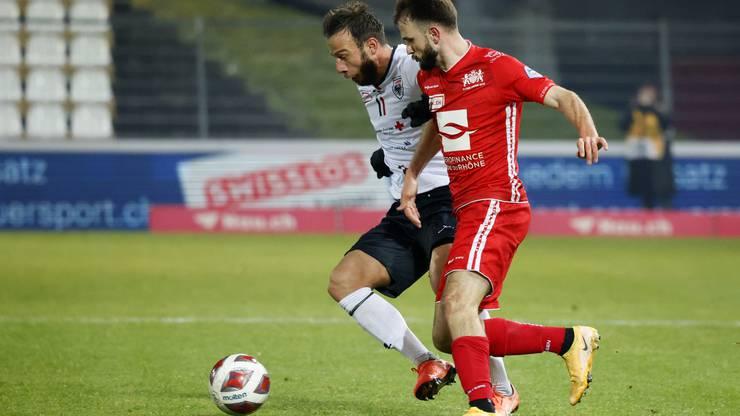 Lausanne-Ouchy erweist sich als Aaraus härtester Gegner in der bisherigen Saison.