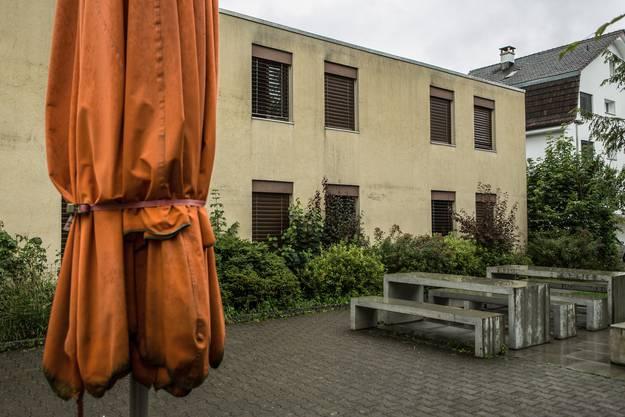 Das Erstaufnahmezentrum Casa Torfeld in Buchs.