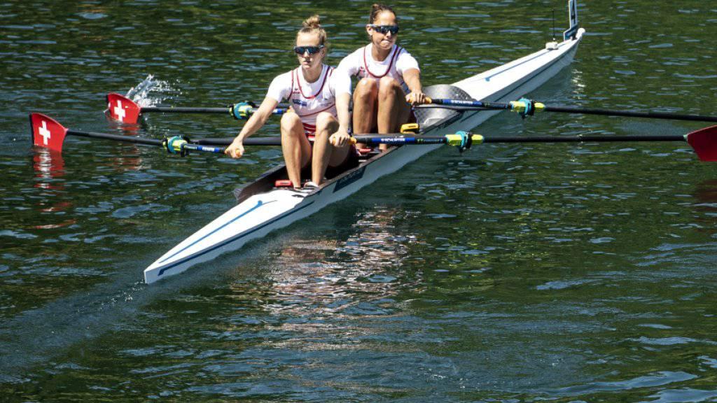 Frédérique Rol und Patricia Merz gewinnen im Halbfinal dank einem starken Endspurt
