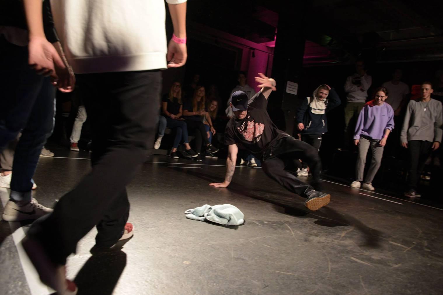 Beim Battle im Flon können sich die Tänzer messen. (Bild: Facebook/Saint City Beatz)