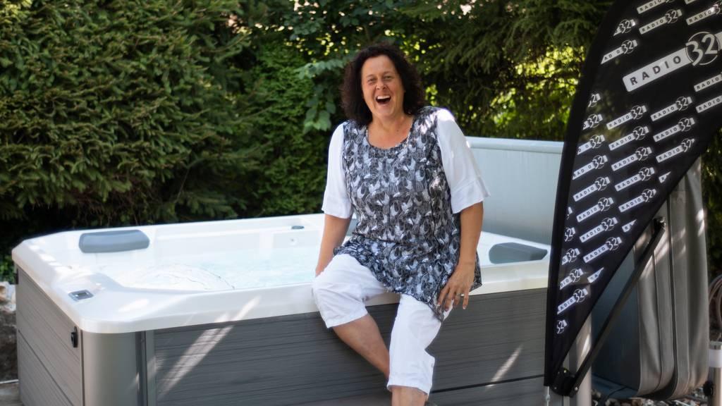 Gewinnerin Ruth Stampfli zeigt uns ihren geliebten Whirlpool!