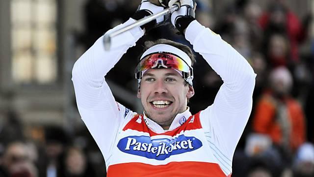Emil Jönsson sprintete in Lahti zum Sieg