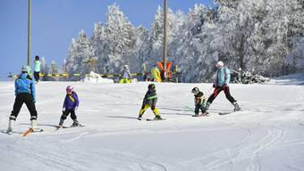 Skischule auf dem Grenchenberg 2018