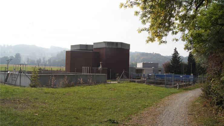 Auf der Parzelle der ARA Gontenschwil wird ein Pumpwerk mit zusätzlichem Regenbecken gebaut.