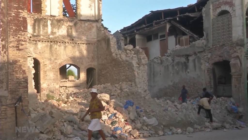 """Hope for Haitis Kids"": Berner Organisation bietet Soforthilfe vor Ort nach Erdbeben"