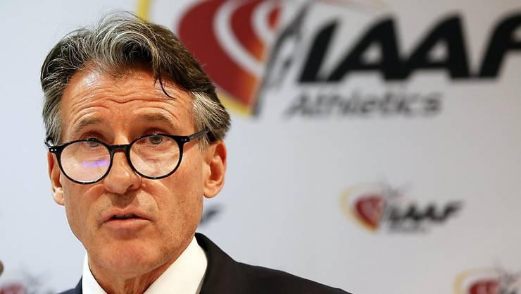 Die IAAF um Präsident Sebastian Coe verlängerte die Sperre gegen den russischen Verband
