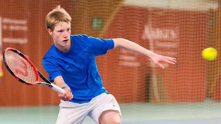 Jonas Schär aus Oftringen hat seine gute Form an den Junioren Schweizer Meisterschaften unter Beweis gestellt und will nun an der Swiss Junior Trophy nachdoppeln.