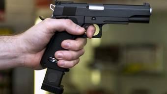 Die Einbrecher wurden mit einem Schuss in den Himmel vertrieben. (Symbolbild)