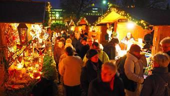 Oltner Adventsmarkt im Klostergarten