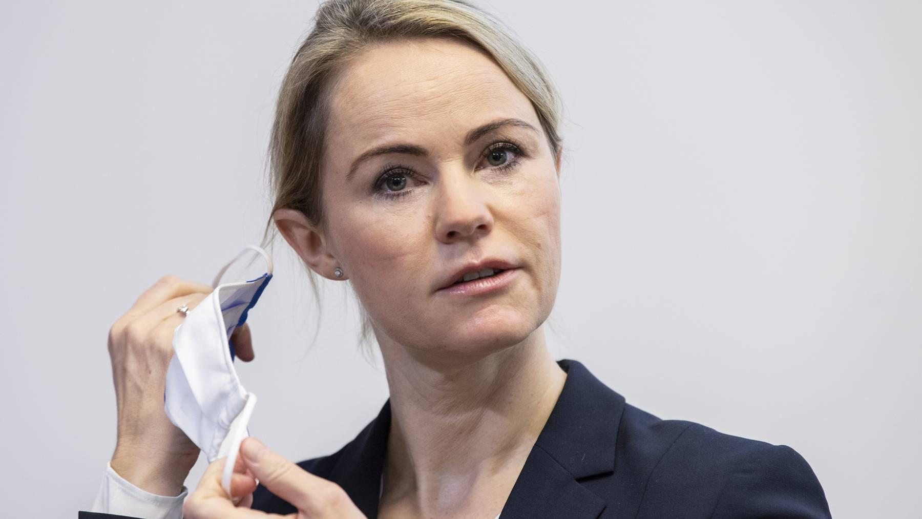 «Weiss, was dort läuft»: Natalie Rickli beurteilt die Situation in den Spitälern al nicht länger zumutbar.