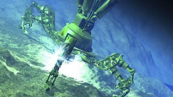 Abbau in den Tiefen der Ozeane – was hier bloss eine Computer-Grafik ist, wird bald Realität.