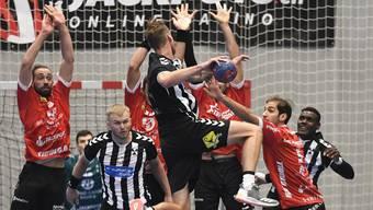 Für den RTV Basel gab es gegen den HC Kriens-Luzern kein Durchkommen.