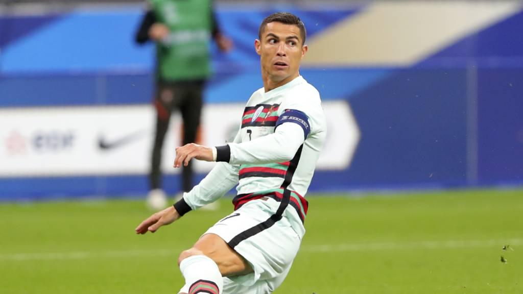 Cristiano Ronaldo positiv auf das Coronavirus getestet