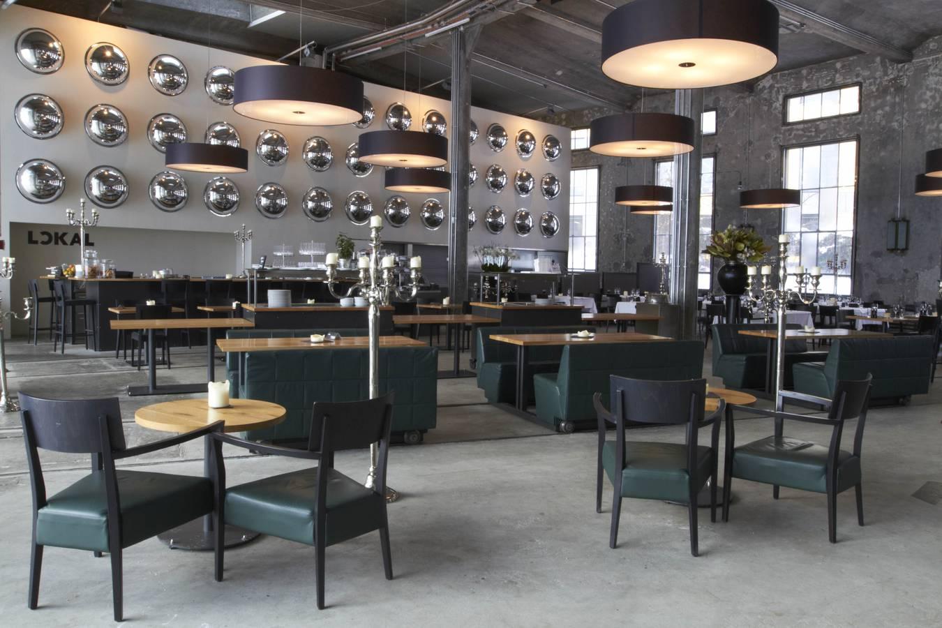 Das Restaurant Lokal in der Lokremise St.Gallen (© zVg)