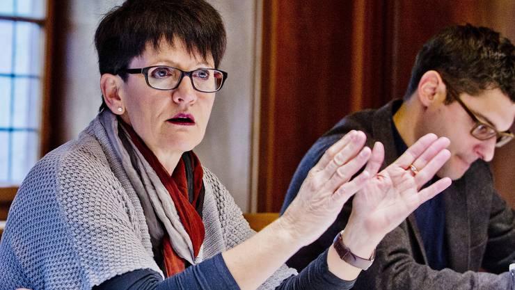 Daniela Berger ist seit 1998 in der Stadtpolitik tätig, bis 2011 sass sie im Einwohnerrat, seit 2002 im Stadtrat – nun tritt sie zurück. Archiv
