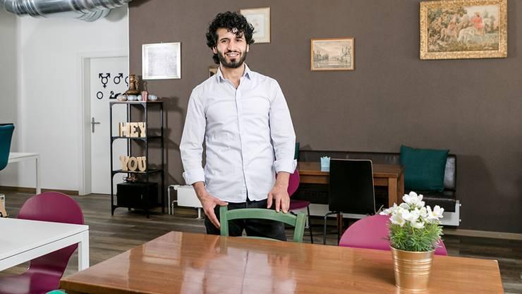 Heimvorteil: Im selben Gebäude, in dem seine neue Bar eröffnet, führt Halil Atac bereits einen Dönerimbiss.