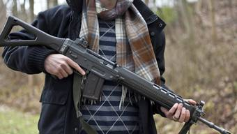 Die Stadtpolizei Winterthur musste am Dienstagabend wegen eines Mannes mit Sturmgewehr ausrücken. (Symbolbild)