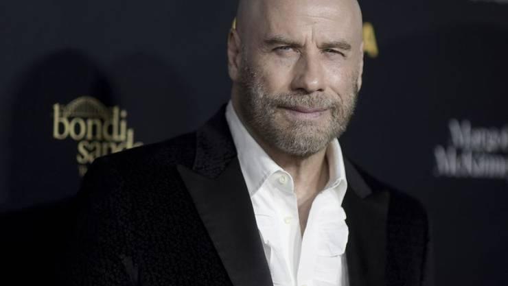 """John Travolta feiert am 18. Februar 2019 mit neuer """"Frisur"""" den 65. Geburtstag."""