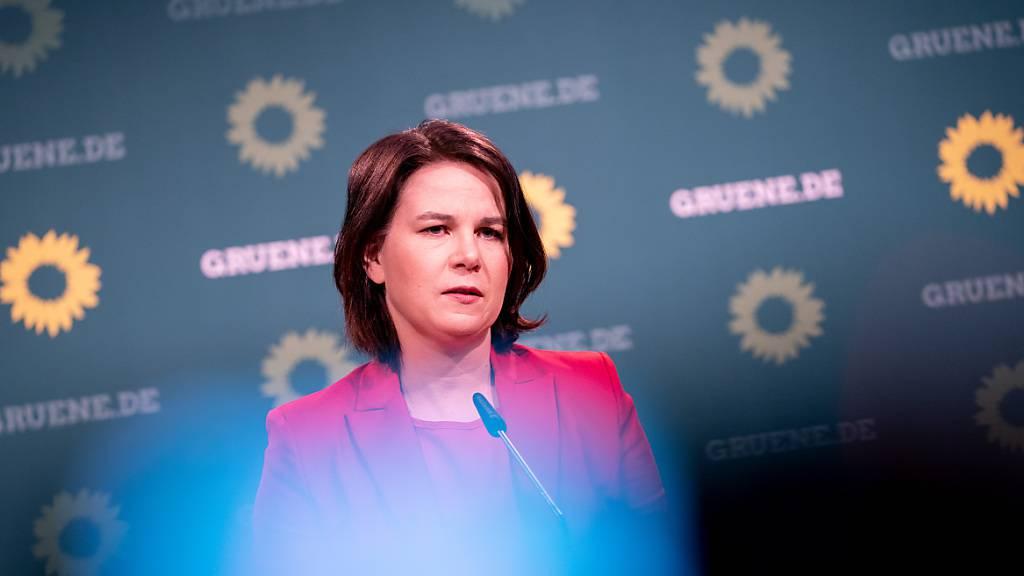 Annalena Baerbock ist Bundesvorsitzende und Kanzlerkandidatin von Bündnis 90/Die Grünen. Foto: Kay Nietfeld/dpa