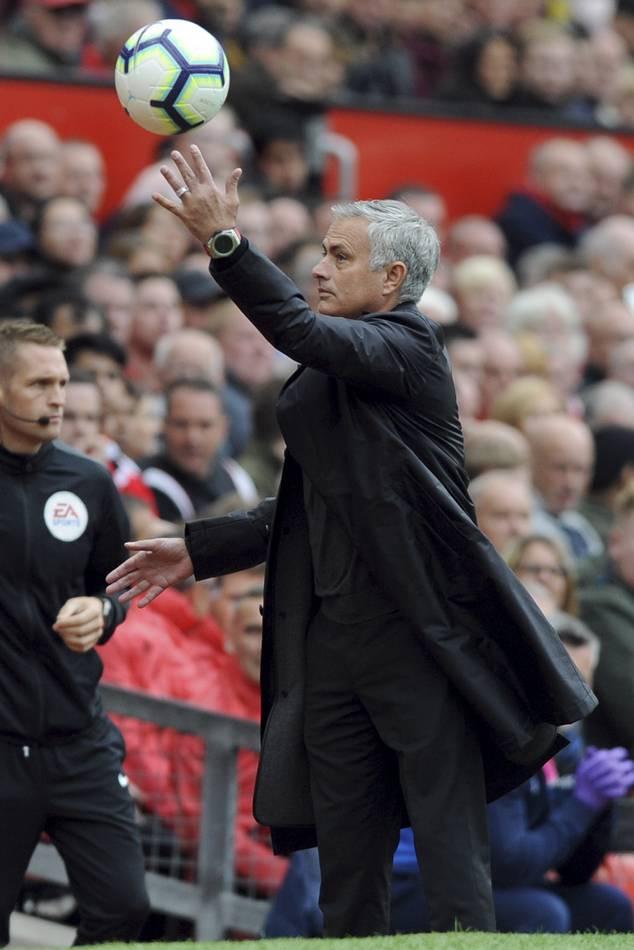 José Mourinho droht bei ManUnited der Rausschmiss.