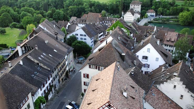 Wegen der begrenzten Gemeindefläche von nur 32 Hektaren kann sich Kaiserstuhl nur schwer entwickeln. angelo zambelli