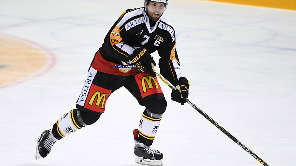 Luganos Verteidiger Philippe Furrer spielt ab der kommenden Saison für Fribourg-Gottéron