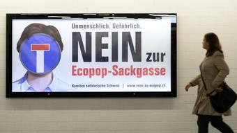 Ecopop will mit einigen Mitteparteien Listenverbindungen eingehen