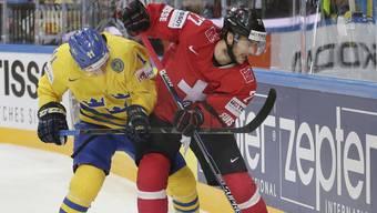 Eishockey-WM: Schweiz gegen Schweden