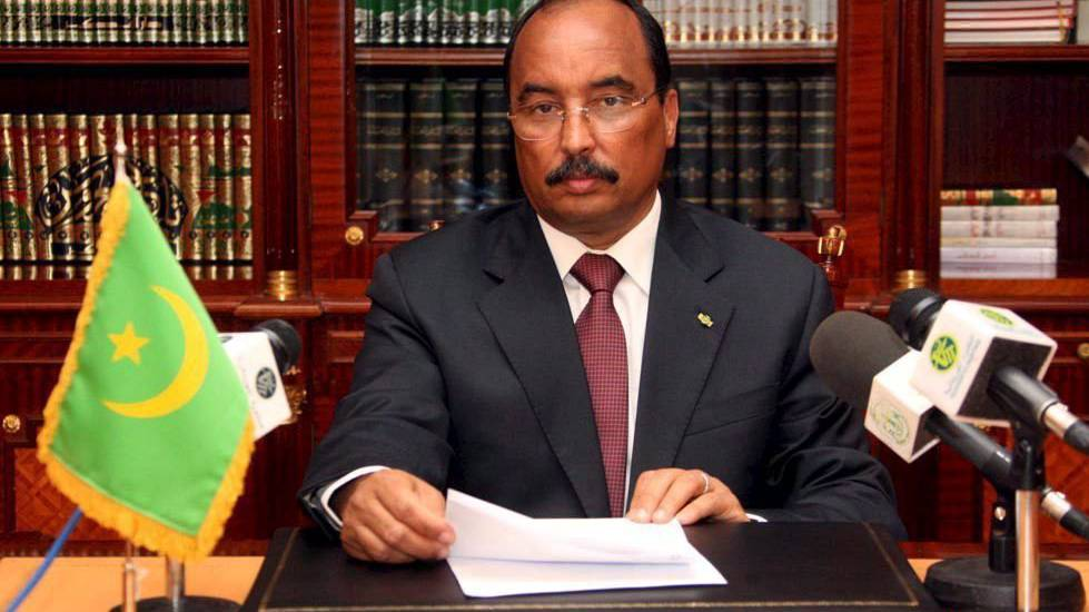 Der Präsident Mauretaniens Mohamed Ould Abdel Aziz führt die Präsidialrepublik Mauretanien mit eiserner Hand.