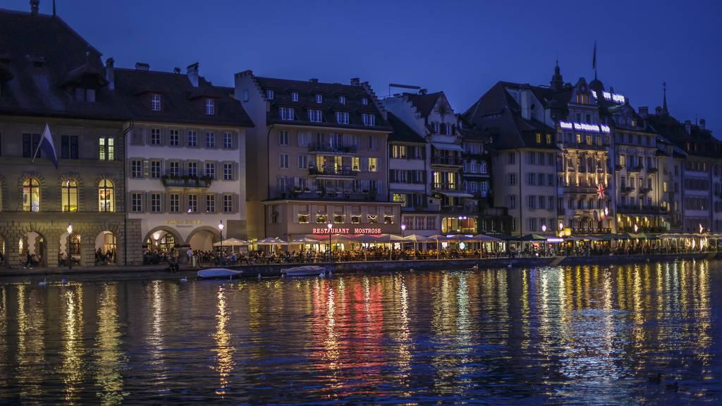Luzerner Polizei interveniert bei zahlreichen Ruhestörungen