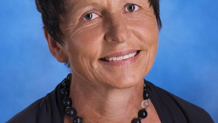 Sie ist ab Neujahr die erste  Gemeindepräsidentin der fusionierten Gemeinde. Vreni Flückiger-Heiniger (Foto: Urs Semling)