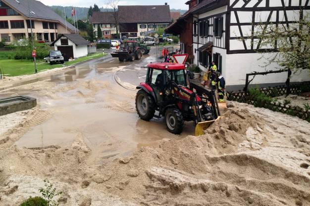 In der Ostschweiz kam es zu Überschwemmungen