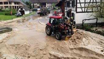 Gewitter fegt über die Schweiz