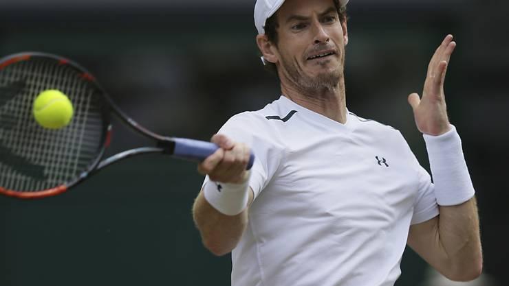 Andy Murray muss auf einen Start am US Open in New York wegen einer Hüftverletzung verzichten
