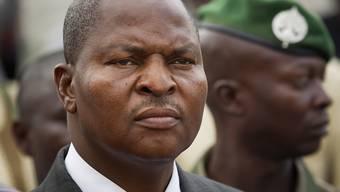 Fauston Archange Touadéra könnte der nächste Präsident Zentralafrikas werden - nach einer ersten Auszählung der Stimmen liegt er vorn. (Archiv)