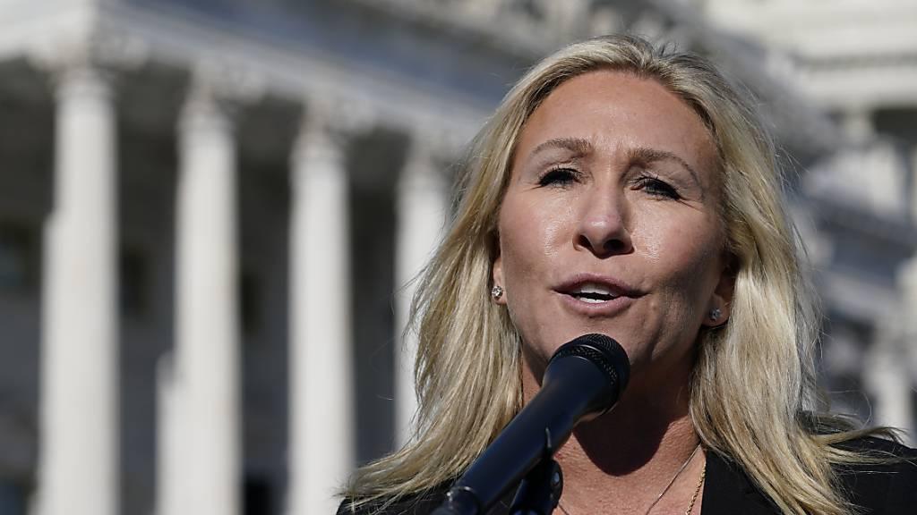 Fraktionschef verurteilt Nazi-Vergleiche von Trump-Anhängerin Greene