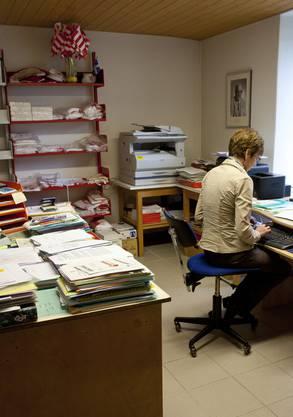 Im Sekretariat des Mouvement autonomiste jurassien (MAJ)