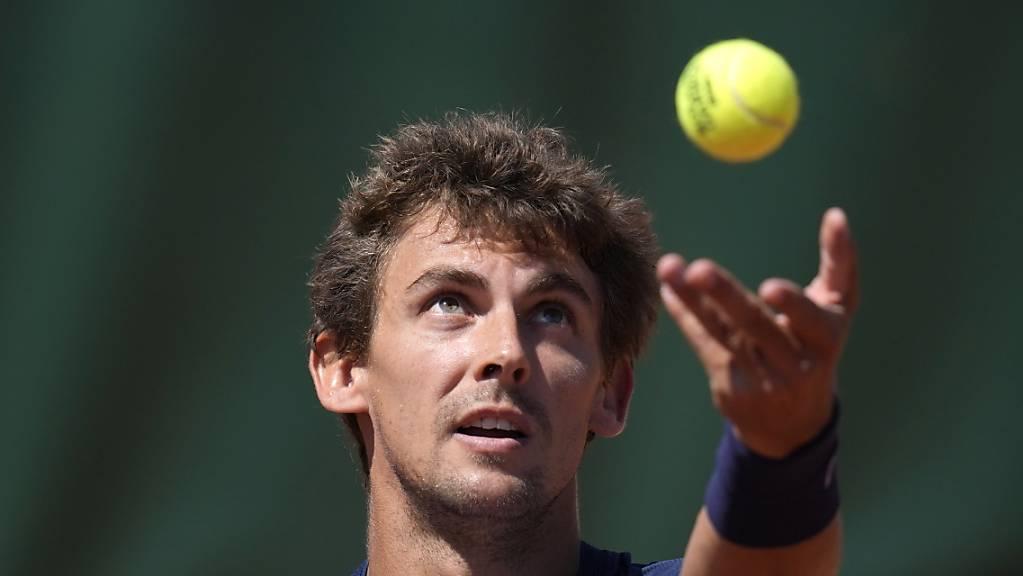 Henri Laaksonen schafft es zum zweiten Mal in Paris in die 2. Runde.