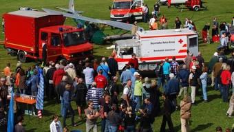 Unfall bei einer Flugschau in Deutschland