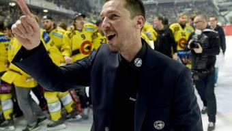 Eishockey spielt auch weiterhin eine wichtige Rolle im Leben von Lars Leuenberger: Der ehemalige SCB Trainer wird Experte bei Teleclub. (Archivbild)
