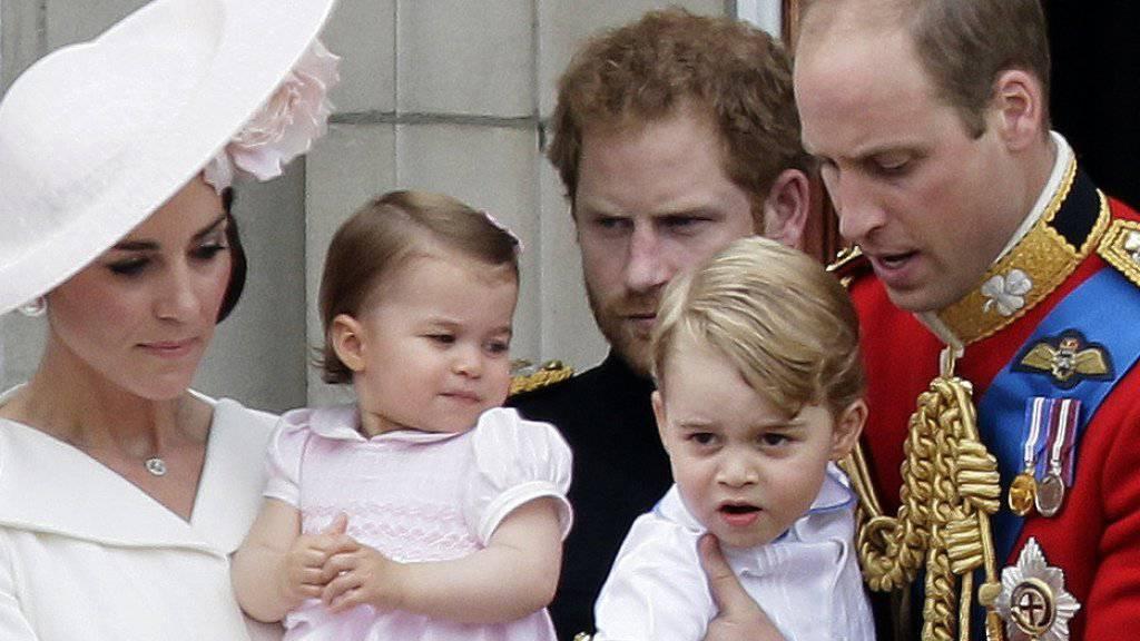 William und Kate bekommen bald das dritte Kind. (Archivbild)