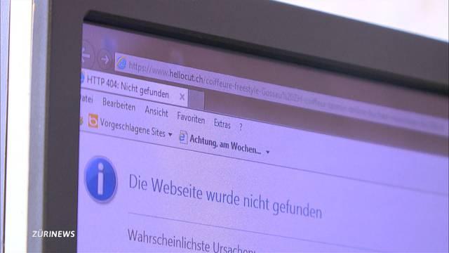 Hacker legen das Buchungssystem von Coiffeuren lahm