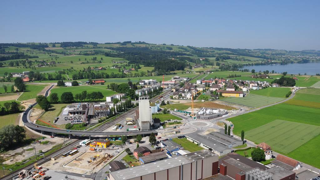 Umfahrungsstrasse in Sempach Station eröffnet
