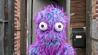 """Das Cookie Monster ist als eines der zentralen Themen in der Ausstellung """"Honky Tonk Calamity >< Ms. Fortune on the Links"""" von US-Künstler Stefan Tcherepnin vertreten."""